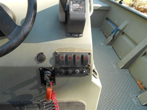 help me upgrade my switch panel small boat the hull - Mud Boat Switch Panel
