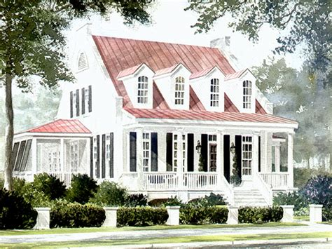 southern living plans watermark coastal homes llc print southern living house