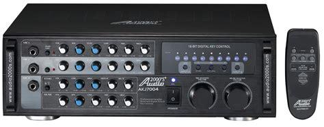 Power Lifier Karaoke mixers s