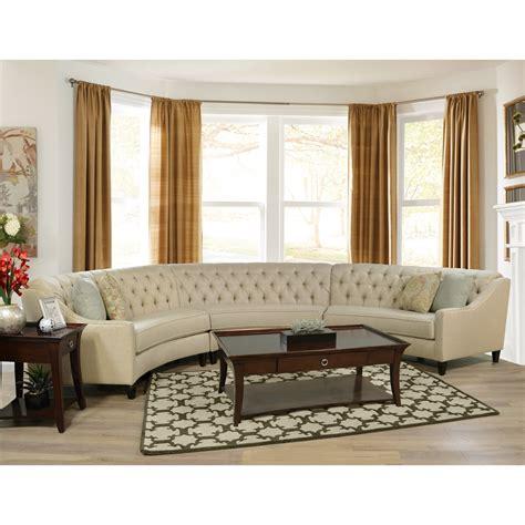 finneran 3 curved sectional sofa virginia