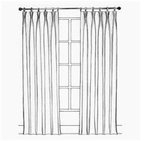 pinch pleat draw drapes sketch to curtain maker for curtains google search