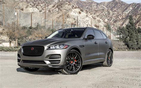 2019 jaguar suv wallpapers jaguar f pace 2019 luxury suv gray