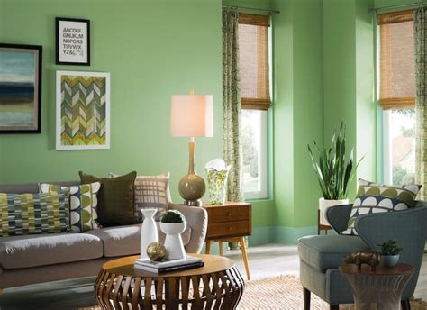 The Living Room Marcelo Green Paint Color Combos Your Complete Guide To Pairing Paint