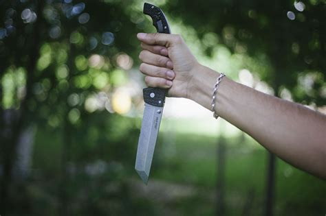 edged tanto cold steel voyager xl tanto combo edge knife review