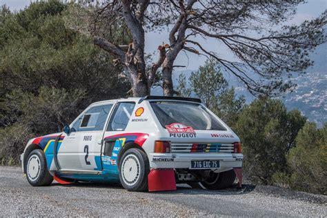 peugeot 205 rally ari vatanen s peugeot 205 t16 rally car columnm