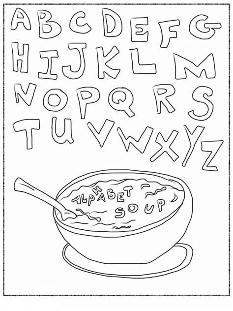 coloring pages of the abc s free printable alphabet coloring pages for kids best