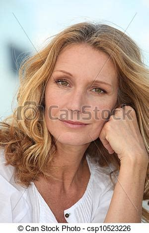 this pretty blond haired middle aged stock photo 86043952 stock photo of portrait of a middle aged blonde woman