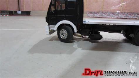Tamiya 114 Rc Mercedes 1850l drifting mercedes 1850l tow truck rc 1 14 scale tamiya driftmission