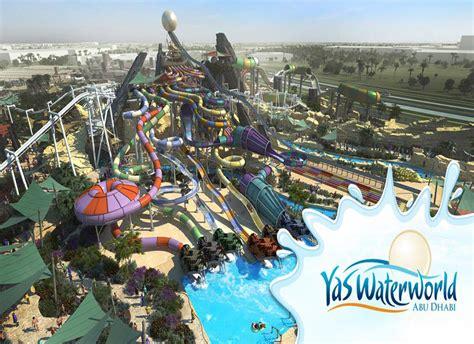 theme park abu dhabi yas park yas water world rides desert life tourism