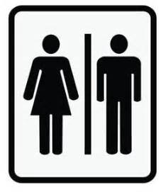 Bathroom sign ebay