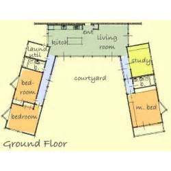 Houseplans Reviews U Shaped Modern House Plans Design Modern House Design