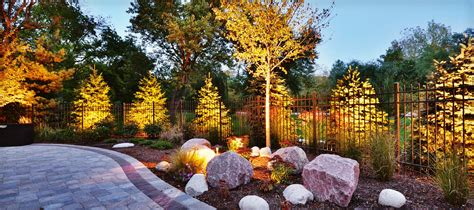 professional landscape lighting elemental landscapes ltd