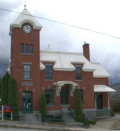Post Office Greenwood greenwood bc map trans canada trail copper eagle