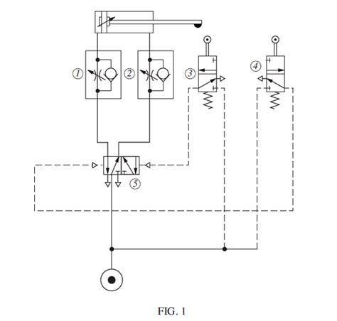 pneumatic circuit diagram pneumatic circuit diagram exles circuit and