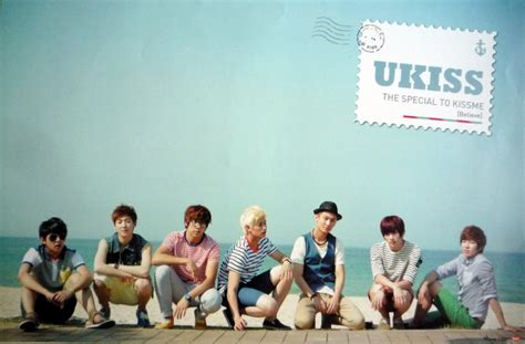 Poster Ukiss u the special to me poster seouly shopping