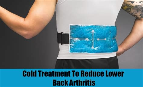 5 ways to cure lower back arthritis how to cure lower