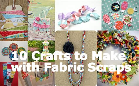 fabric crafts fabulous friday 10 crafts to make with fabric scraps