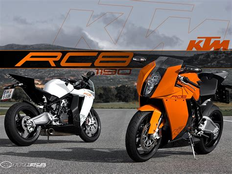 Ktm Corporation 2008 Ktm 1190 Rc8 Ride Motorcycle Usa
