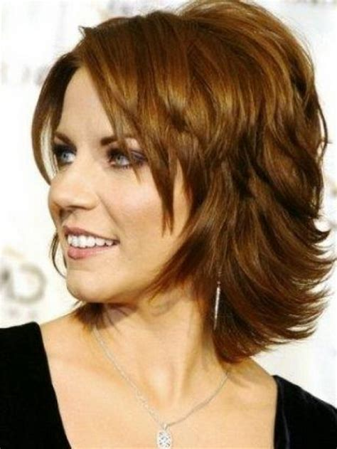 images of shoulder length shag hairstyle medium shag haircut