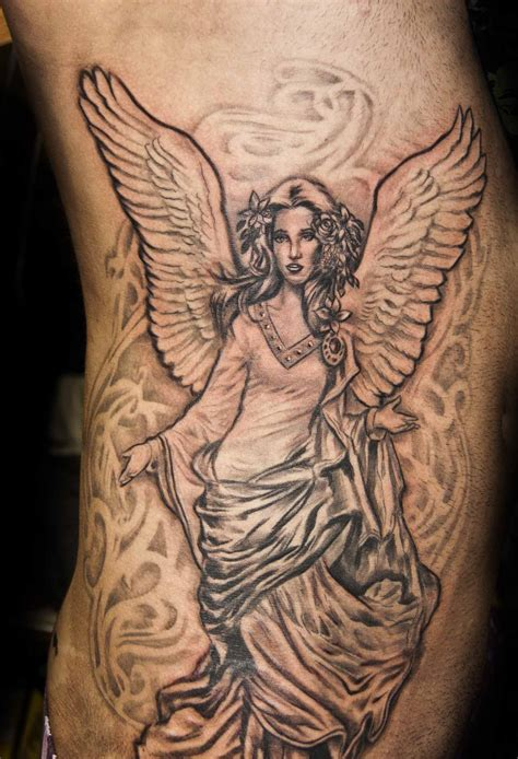 25 angel tattoos design ideas for cool look magment