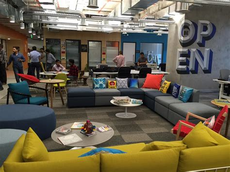 Cool Office Space by After Mumbai Facebook Moves Into A Fun New Office In