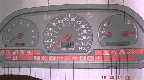 Volvo Truck Warning Symbols Volvo S40 V40 Srs Airbag Warning Light How To Turn