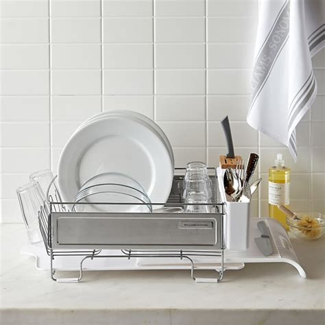 Stainless Steel Dish Rack Large by Williams Sonoma Stainless Steel Dish Rack Large