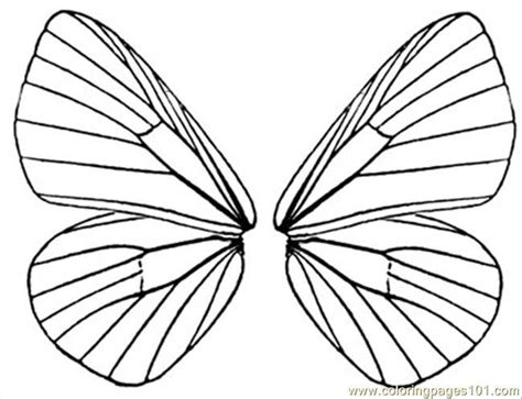 Fairy Wings To Color Free Printable Coloring Page Coloring Pages Of Wings
