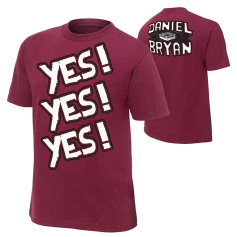 authentic square tshirt daniel bryan yes authentic t shirt us