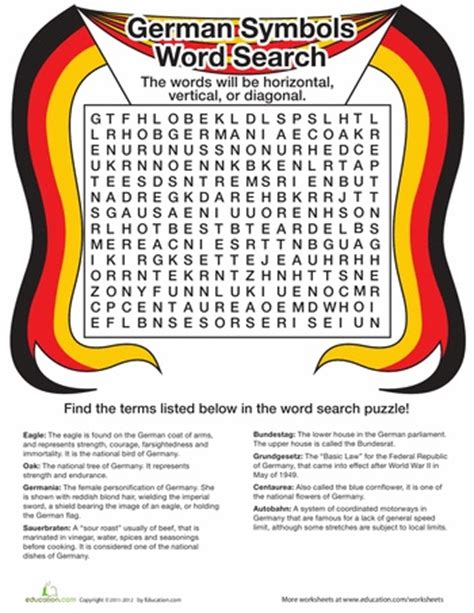 Free Search Germany 196 Best Word Puzzles Images On History Education Crossword And Crossword