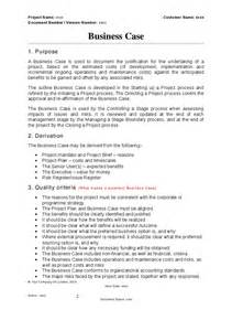 Business Case Template Prince2 Prince2 Business Case Template Hashdoc