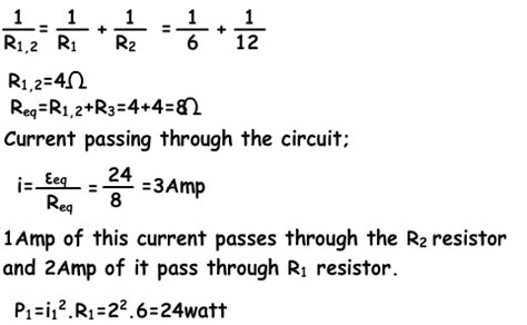 electric potential difference resistor finding potential difference between two points in circuits with exles