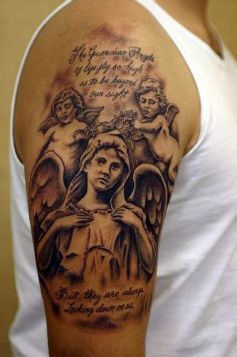 angel tattoos for men arm tattoos for alpy