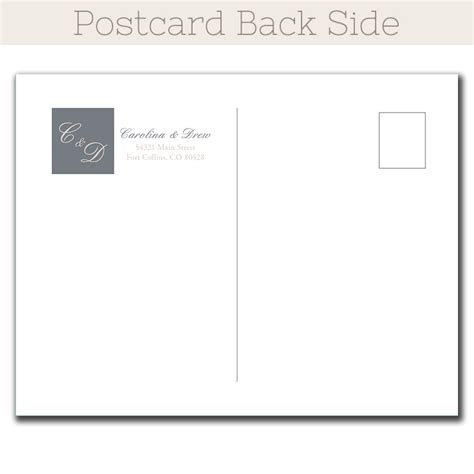 Ivory Printable Postcards | ivory details save the date postcard the print cafe
