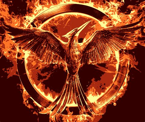 hunger games logos of the hunger games movies art