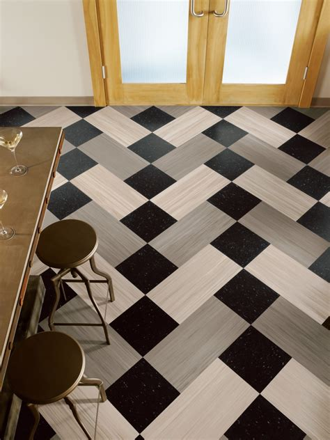 floor tiles layout idea ideas checkered flooring ideas for awesome room look black and white vinyl wood flooring for