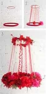 Paper Flower Chandelier Tresxics