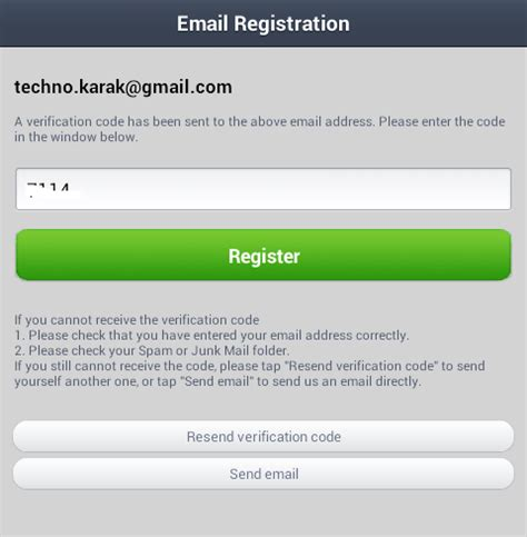 email register line app for pc windows no android emulator required for