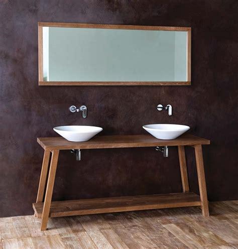 mobili bagno 2 lavabi mobili da bagno in teak vasche e lavabi in legno di teak