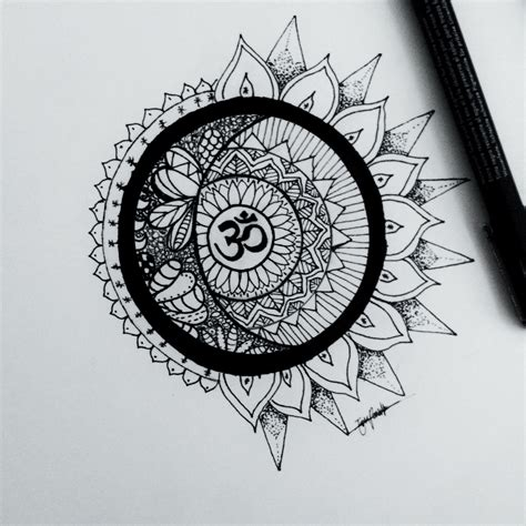 om mandala designsbyeri