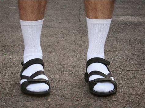 sandals and socks socks and sandals the unlikely new trend in s
