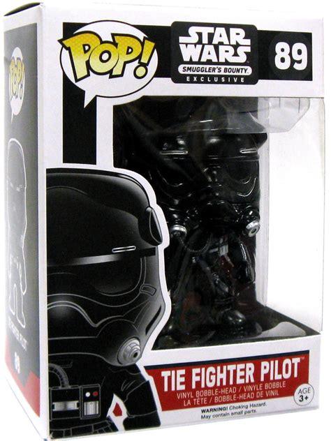 Black Metals Pop Pilot smugglers bounty tie fighter pilot funko pop vinyl