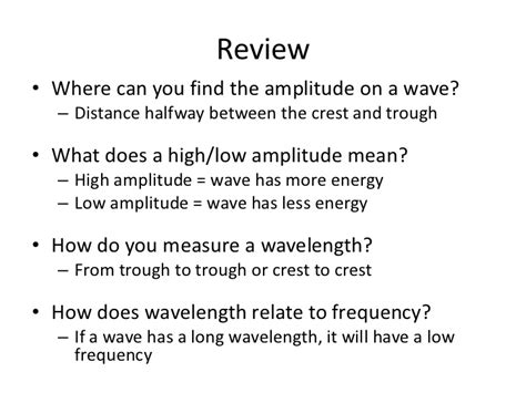 How Does Find You May How Do Waves Behave