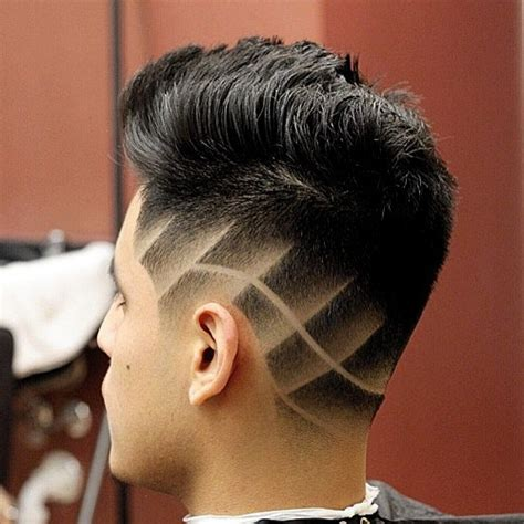 How To Comb Hair Styles For Without Wax by S Taper Fade Haircuts With Side Designs 2016 S