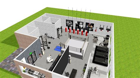 Free Home Floor Plan Software by 3d Gym Design Mifitness