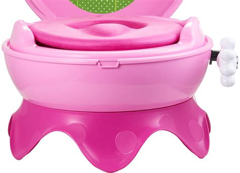 Toilet Soft Baby Potty Seat Handle Karakter Minnie Mouse the years disney baby minnie mouse 3 in 1