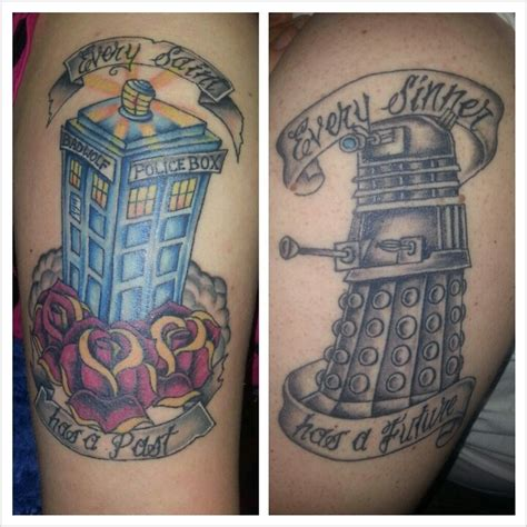 doctor who couple tattoos 164 best images by ducey on