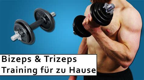 brustmuskeltraining zu hause mann bizeps und trizeps muskelaufbau zuhause