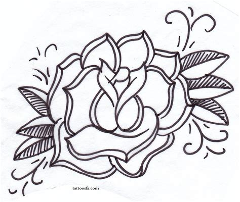 blue heart tattoo designs roses design with blue banner photo 4