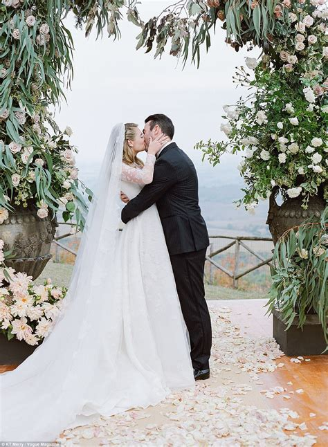 Wedding Ceremony Photos by Kate Upton Looks Like Fairytale Princess In Wedding Photos